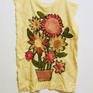 Accessories - Sunflower Needlepoint Tapestry